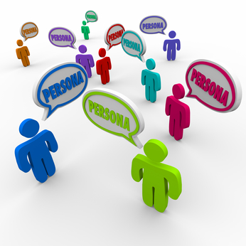 Buyer Persona Speech Bubble People Customers Profile Clients