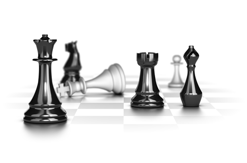Checkmate, Business Strategy Concept