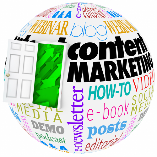 Content Marketing Website Online Articles Information Video Comm